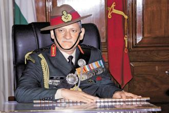 Indian Army chief Bipin Rawat also said the number of Chinese troops along the Doklam plateau in the Sikkim sector had also seen a reduction. Photo: PTI