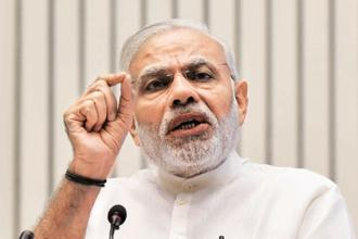 His government's economic missteps don't appear to have dented Prime Minister Narendra Modi's personal popularity. Photo: Vipin Kumar/HT