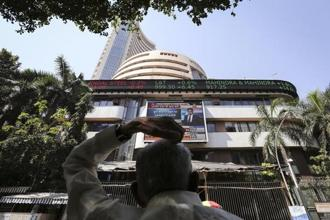 BSE's 30-share Sensex closed at a record 34,352.79 points, up 0.58%, after rising to as much as 34,385.67 in intra-day trading. Photo: Reuters