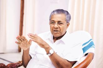 Kerala CM Pinarayi Vijayan's initiatives have brought him great publicity—like a move to implement reservation norms in state-run temples to allow Dalits to work as priests. File photo: Mint