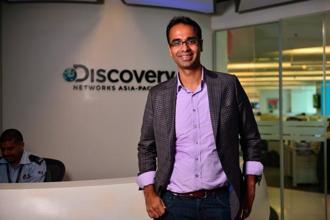 Karan Bajaj, senior vice-president (V-P) and general manager—South Asia, Discovery Communications India. Photo: Pradeep Gaur/Mint