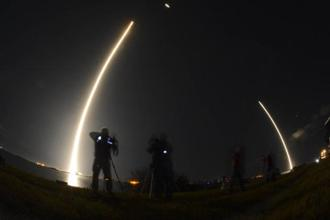 The launch is SpaceX's first in what was expected to be a busy year. The company has said it plans to launch about 30 missions in 2018 after completing a record 18 last year. Photo: AP
