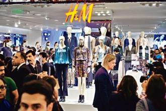 A file photo of a H&M store. Fashion house  H&M  and furniture retailer IKEA are among potential beneficiaries of the new sourcing norms. Pradeep Gaur/Mint