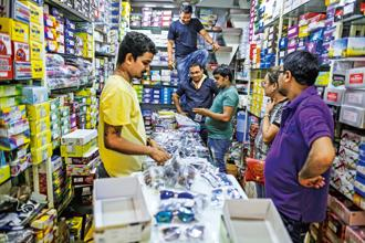 The GST Council had in November last year allowed businesses with a turnover of up to Rs1.5 crore to file final returns GSTR-1 quarterly. Photo: Bloomberg