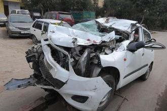 Causes of the deaths on India's roads range from human error to potholed streets and manufacturing defects in vehicles. Speeding caused almost 67% of road accidents. Photo: Hindustan Times