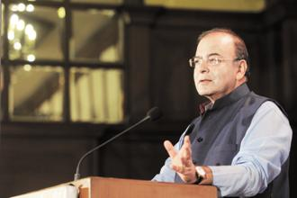 Finance minister Arun Jaitley. The obsessive concern of the finance ministry with the gross fiscal deficit of the central govt is baffling. Photo: Indranil Bhoumik/Mint