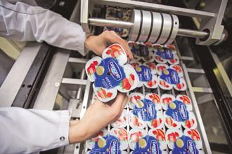 Despite repeated efforts, dairy remained a small business accounting for around 10% of Danone's revenue in India. Photo: Bloomberg