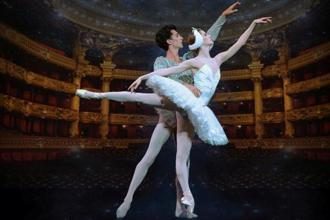 Dancers from the Paris Opera Ballet.