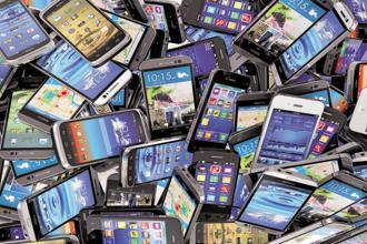 Representational image. Apple pays recyclers like Li Tong a fee to shred its old phones, tablets and computers. Photo: iStockphoto