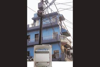 Officials at power distribution companies can remotely monitor the activity of smart boxes, whose internal circuitry is equipped with a GSM mobile SIM card. Photograph: Smartbox