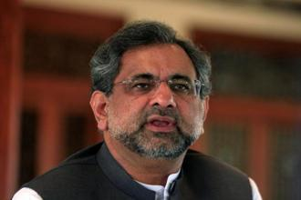 A file photo of Pakistan Prime Minister Shahid Abbasi. Photo: Reuters