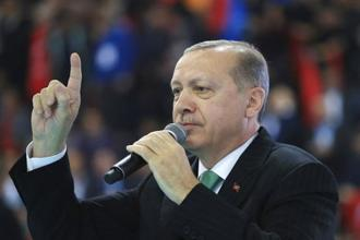 Recep Tayyip Erdogan reaffirmed again that the Turkish army was ready 'at any moment' to launch an operation against the YPG in Syria. Photo: AP