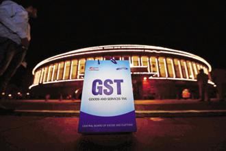 "GST has economically united the country through the underlying notion of ""One Nation, One Tax, One Market"". Photo: PTI"