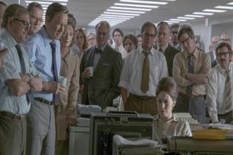 A still from Steven Spielberg's 'The Post'.