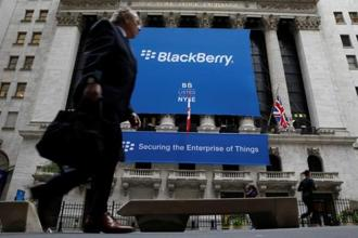 BlackBerry says it offers Jarvis on a pay-as-you-go basis. Photo: Reuters