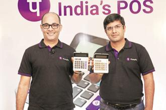 PhonePe CTO Rahul Chari (right). The in-app stores are aimed at retaining PhonePe's 65 million customer base and increasing the transaction volume on the app.