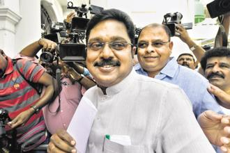 Sidelined AIADMK leader T.T.V. Dhinakaran said that the announcement would come within a week. Photo: PTI