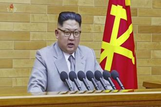 The US remains sceptical that North Korea's leader Kim Jong-Un is ready to negotiate away his weapons programme. Photo: AP