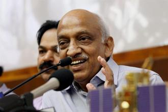 A file photo of former Isro chairman A.S. Kiran Kumar. Photo: PTI