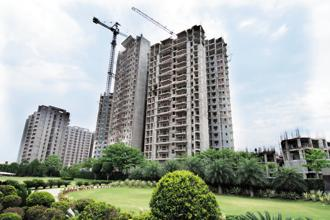 Nifco and its associates have also committed proprietory capital of about Rs50 crore to be invested for turnaround of small-sized stressed or non-performing residential projects in large cities. Photo: Ramesh Pathania/Mint