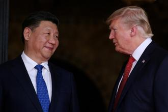 After criticizing China during the 2016 presidential campaign, Donald Trump repeatedly praised Xi Jinping during his first year in office and the pair have had frequent conversations. Photo: Reuters