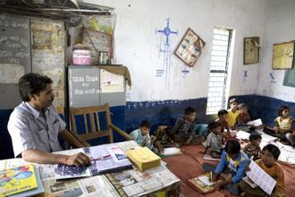A teacher by definition has to innovate every day. Photo: Mint