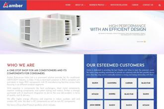 Amber Enterprises India Ltd is the market leader in the room air conditioner outsourced manufacturing space in India with a market share of 55.4%.