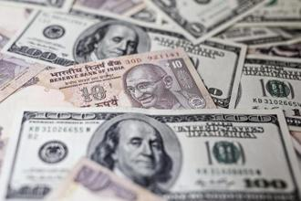The rupee gained 0.24% to 63.89 a dollar on Wednesday from its close of 64.04 on Tuesday. Photo: Bloomberg