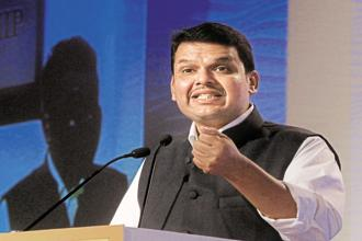 Maharashtra chief minister Devendra Fadnavis. The state government will also stand guarantee for a part of the loans issued to the start-up units. Photo: HT