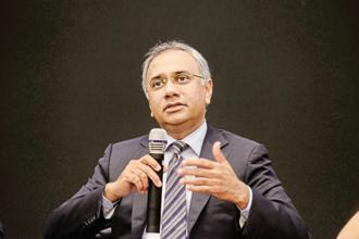 New Infosys CEO Salil Parekh has sought time until April to outline the M&A strategy ahead for the outsourcing company. Photo: Hemant Mishra/Mint