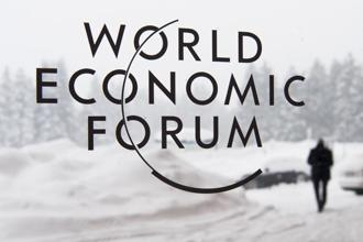 Officially, the show doesn't begin till 23 January, but delegates are already arriving for the 48th annual meeting of the World Economic Forum. Photo: AP