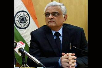 While Om Prakash Rawat has been appointed as chief election commissioner (CEC), ex-finance secretary Ashok Lavasa has been appointed as election commissioner. Photo: PTI
