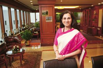 ICICI Bank chief Chanda Kochhar said reforms have accelerated the process of formalisation of the economy and India is transforming and is in a strong position to become the fastest growing large economy in the world. Photo: Abhijit Bhatlekar/Mint