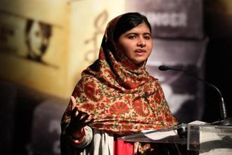 Apple will become the fund's first Laureate partner, enabling a significant expansion of Malala Yousafzai's effort to support girls' education and advocate for equal opportunity. Photo: AFP