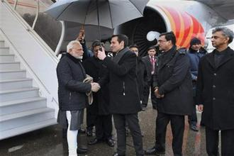 Narendra Modi's speech is scheduled for 11am in Davos or 3:30pm India time. Photo: PTI