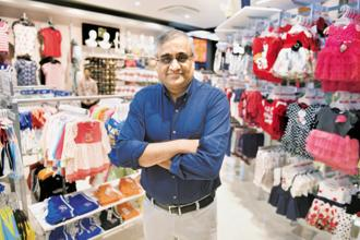 Future Group chairman Kishore Biyani. The retail firm has been on an acquisition spree for some time now, buying Shoppers Stop and Hypercity Retail in the past six months. Photo: Indranil Bhoumik/Mint