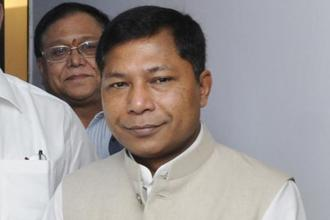 A file photo of Meghalaya chief minister Mukul Sangma. Photo: HT