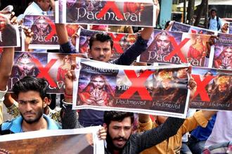The bitter truth is that our politicians have time and again poked fun at democratic values. The Padmaavat case is an illustration of this. Photo: PTI