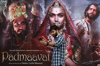 Experts such as Mohan and Adarsh also point to the impressive performance of Padmaavat in overseas markets. Photo: Reuters