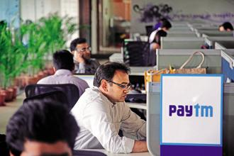 Paytm's latest valuation is $3 billion higher than what it was valued in March 2017, when it raised funds from SoftBank Group Corp. Photo: Bloomberg