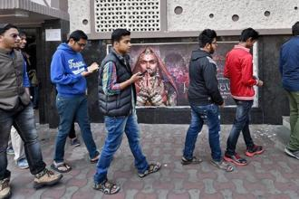 Sanjay Leela Bhansali's much-anticipated movie 'Padmaavat' broke the record for the all-time biggest opening weekend for any Bollywood film in North America. Photo: PTI