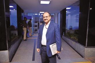 Ajay Bhushan Pandey, chief executive officer of Unique Identification Authority of India, the Aadhaar issuing body. Photo: Pradeep Gaur/Mint