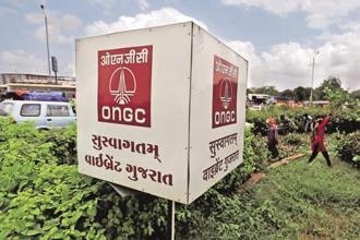 Moody's expects that ONGC will not be asked to share fuel subsidies as long as the oil prices stay below $60-65 per barrel. Photo: Reuters