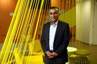A file photo of Sudhanshu Vats, group CEO at Viacom18. Photo: Abhijit Bhatlekar/Mint