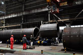 Growth in China's manufacturing sector slowed more than expected in January in the face of a cooling property market and tighter pollution rules. Photo: AFP