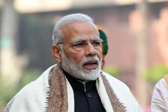Facing upcoming state polls, as well as another general election in 2019, Prime Minister Narendra Modi is expected to loosen the purse strings. Indeed, many investors seem to want him to, because they'd like to see him reelected. Photo: AFP
