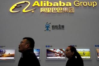 Alibaba's revenue in the 12 months ending March will rise 55% to 56%, up from a range of 49 to 53% previously. Photo: Reuters