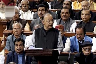 Finance minister Arun Jaitley has unveiled a budget that opens the taps for impoverished farmers, guaranteeing higher minimum crop prices and more spending on infrastructure projects in India's vast rural hinterland. Photo: PTI