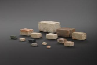 The Indus Valley Civilisation arose around the same time as Ancient Egypt. Many weights have been found where its cities stood. Used to measure everything from food to gemstones, they show that the Indus Valley people had the mathematical knowledge and tools to build great cities and water systems. Courtesy: Science Museum Group