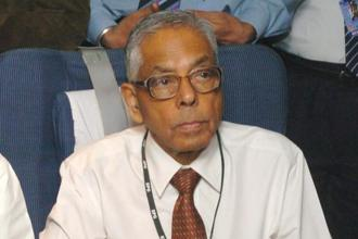 Former national security advisor M.K. Narayanan said China is trying to strangle India by befriending its neighbours and attempting to make India friendless.  File photo: PIB